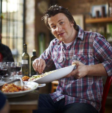 Fourth festive No 1: Jamie Oliver landed the Christmas number one in 2010, 2005 and 2001