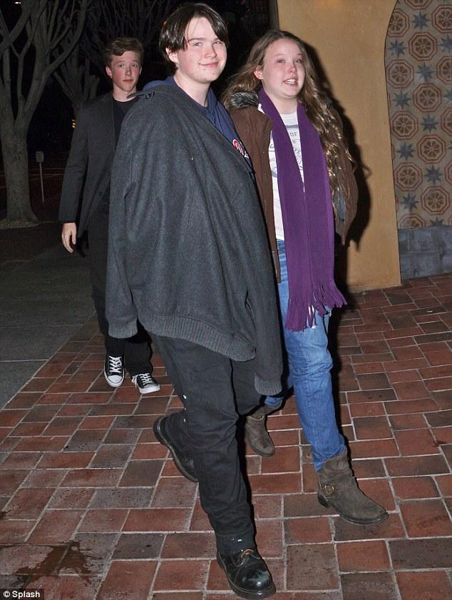 Nothing to hide: Warren Beatty's transgender son Stephen has revealed he has a boyfriend