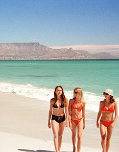 Bargain on the beach: South Africa has got substantially cheaper for Britons this year