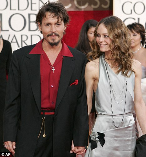 Still going strong: Vanessa has been in a relationship with Hollywood heavyweight Johnny since 1998