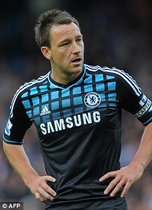 Tough: Terry has put his off-the-field problems aside