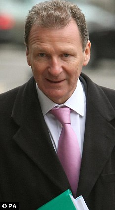 Faring no better: Cabinet Secretary Sir Gus O'Donnell's judgment, too, is severely in question