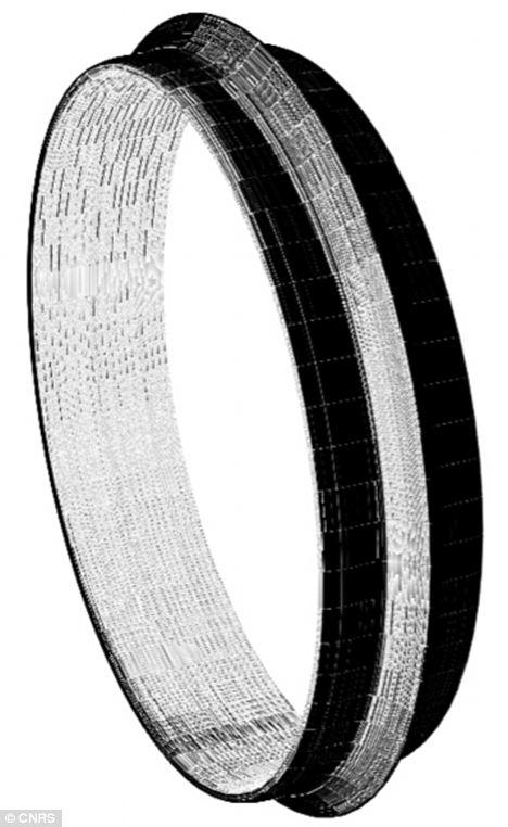 Polished skills: The obsidian bracelet contains remarkable detail