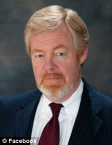 Fighting words: Brent Bozell (left) said, during a recent fox News appearance, that President Obama looked like a 'skinny, ghetto crackhead'
