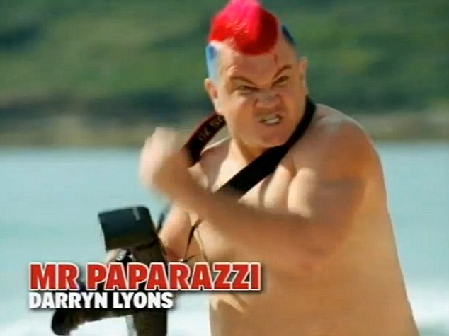 Will he or won't he? Aussie paparazzo will compete with average Joe's and celebrities to lose weight