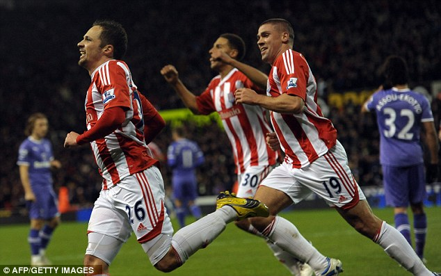 Great strides: Stoke have become a solid Premier League side under Pulis' guidance
