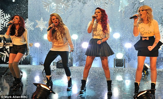 Knocked off the spot: X Factor winners Little Mix have only sold  88,000 copies of Cannonball, one fifth as many as the Military Wives