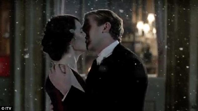 Merry kiss-mass: Downton Abbey was full of optimism