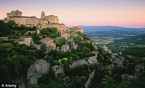 Dream destination: Sheila says that Provence in France is her haven