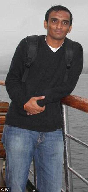 Victim: Anuj Bidve, who had a 'heart of gold'