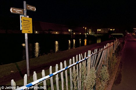 Murder inquiry: The body of Ruby Love was found in the Grand Union Canal (pictured) in Southall, west London on Christmas Day