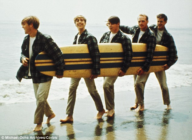 Pet Sounds: The Beach Boys in 1962. Band leader Brian Wilson and his brothers Carl and Dennis, their cousin Mike Love and friend Al Jardine went on to become America's most iconic group