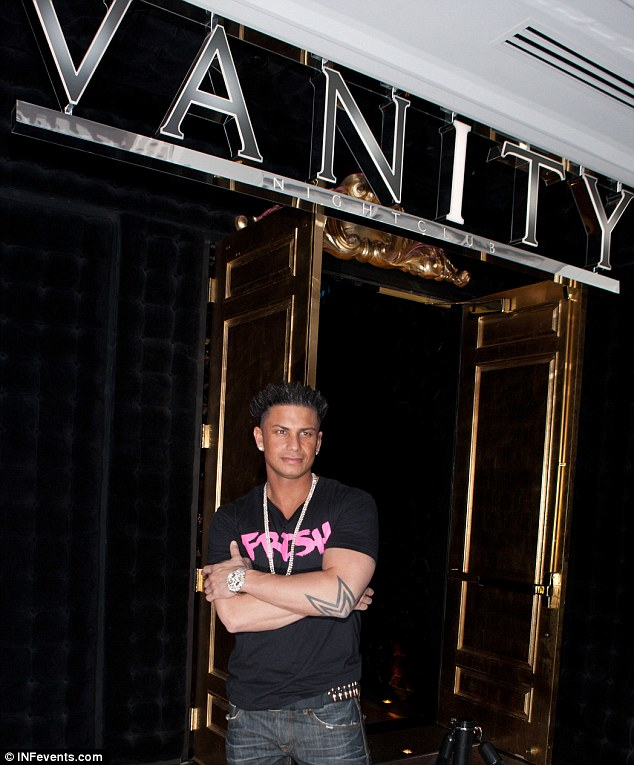 The Pauly D club: No doubt the DJ thought the Las Vegas venue's moniker was a perfect description when he appeared yesterday