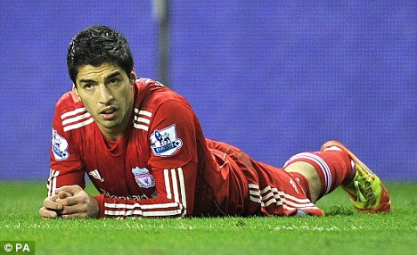 Ban: Luis Suarez is out for eight games