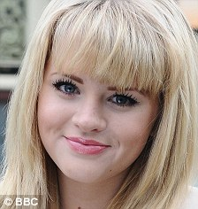 Out with the old: Hetti Bywater has replaced Melissa Suffield as Lucy Beale