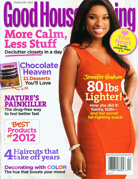 New body: The star discusses her transformation in the new issue of America's Good Housekeeping