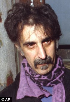 Famous father: Moon Unit is the daughter of musician Frank Zappa