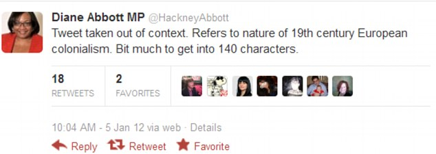 Ms Abbott responded this morning saying that her comment had been 'taken out of context'