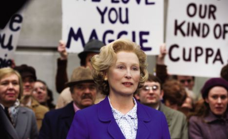 During lengthy stints in make-up, Meryl would listen to speeches and interviews given by Mrs T at various stages of her life