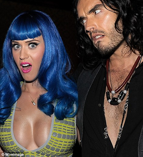Split: Katy Perry and Russell Brand might have got the basics sorted first before getting hitched