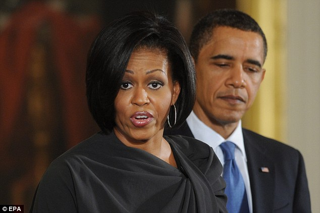 Influential: A new book claims that Michelle Obama is more powerful within the White House than previously thought