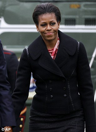 New responsibilities: The first lady was at first unsure of her role, despite her glamorous reception