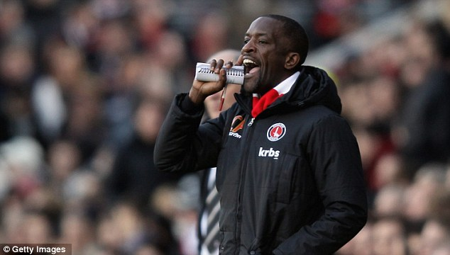 Getting through to you: Charlton Athletic manager Chris Powell will no doubt learn from the game