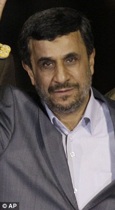 Pressure: Iran's President Mahmoud Ahmadinejad could be close to breaking