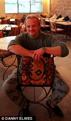 Antony Worrall Thompson inside Notting Grill in 1998