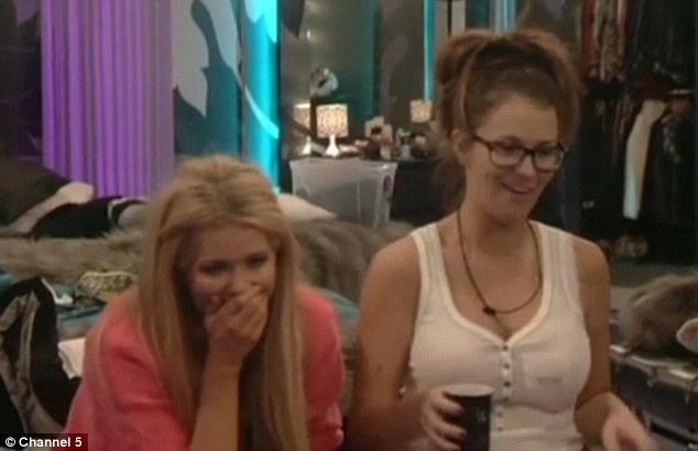 No longer funny: Nicola McLean and Natasha Giggs will go head-to-head in this Friday's live eviction