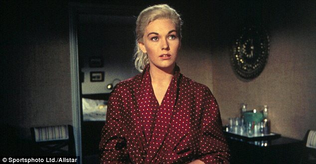 Seeing double: Kim Novak shot to fame for her dual role as Madeleine Elster and Judy Barton in Alfred Hitchcock's 1958 classic Vertigo