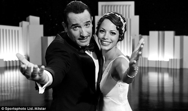 Oscar contender: The Artist, which stars Jean Dujardin, left, and Berenice Bejo, right, is a favourite for the upcoming Academy Awards
