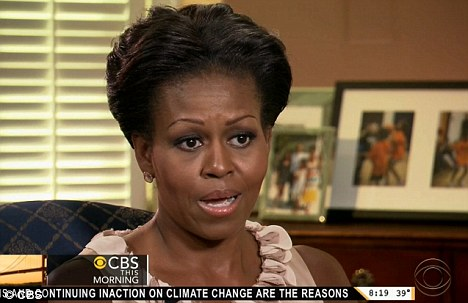 The First Lady has used 'race card' to avoid any criticism of the Obamas, but that simply won't wash with the public