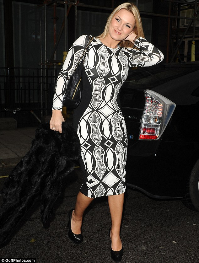 Breaking out: As well as starring in the fourth series of TOWIE, Faiers is also turning her hand to acting