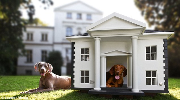 Kennel Club: The Alabama House features pillars, lattice windows and a porch