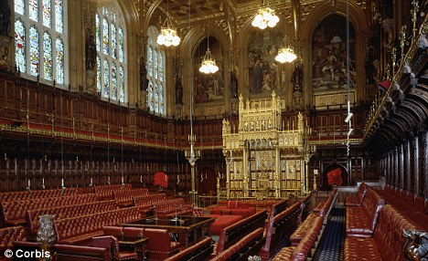Voice of reason: Some in the House of Lords have resisted cuts to disability benefits