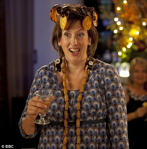 For the laughs: Miss Hart starred in her own award winning comedy show called Miranda