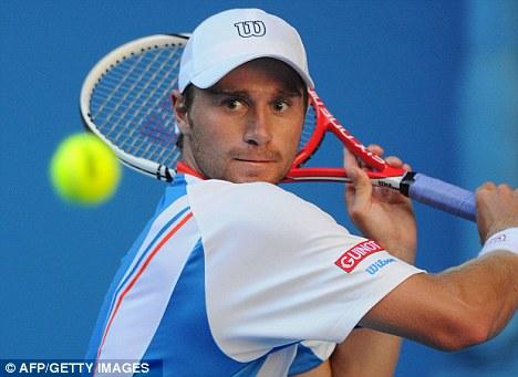 Vanquished: Alex Kuznetsov was dispatched in straight sets