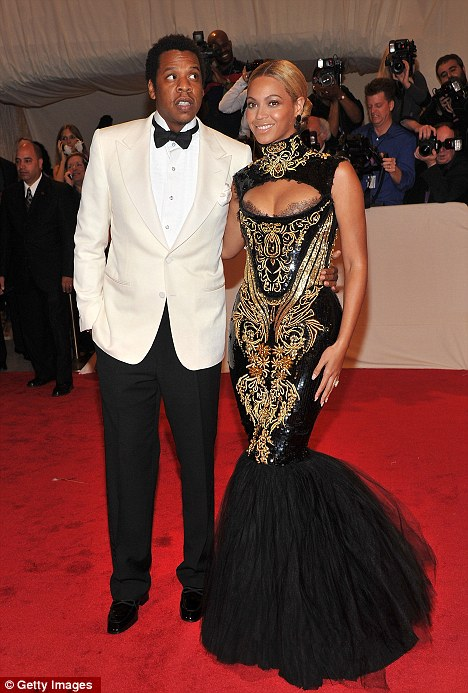 New outlook: Beyonce's husband Jay-Z has promised to stop using the misogynistic word 'b***h' following the birth of their daughter