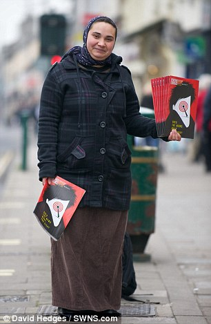 Triumphant: Firuta Vasile, a Big Issue seller from Romania, is celebrating after winning a landmark case that will allow her to claim housing benefit