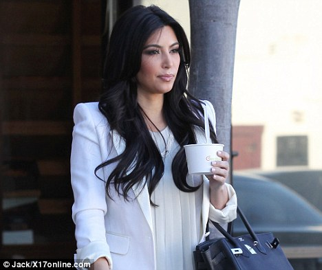 Famous: Pinkberry has a huge celebrity following with Kim Kardashian being a frequent visitor