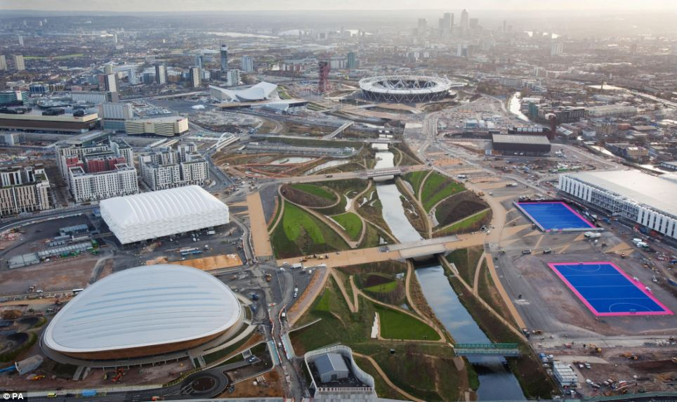 The Olympic Park in Stratford is nearing completion, but there are fears that the opening ceremony could have a half empty stadium if people can't get there