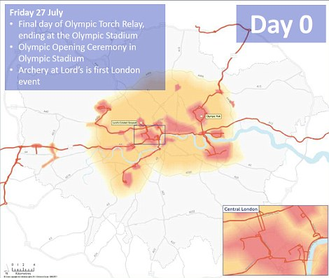 Launch day: The torch will make its way to the stadium and archery will be the first event