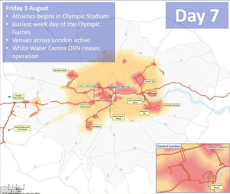 aDay seven: The busiest week day of the Olympic games with events across the city and the start of athletics events
