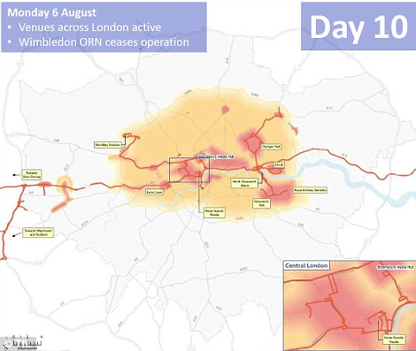 Day 10: Relief for South West London as the Wimbledon Olympic Route Network comes to an end