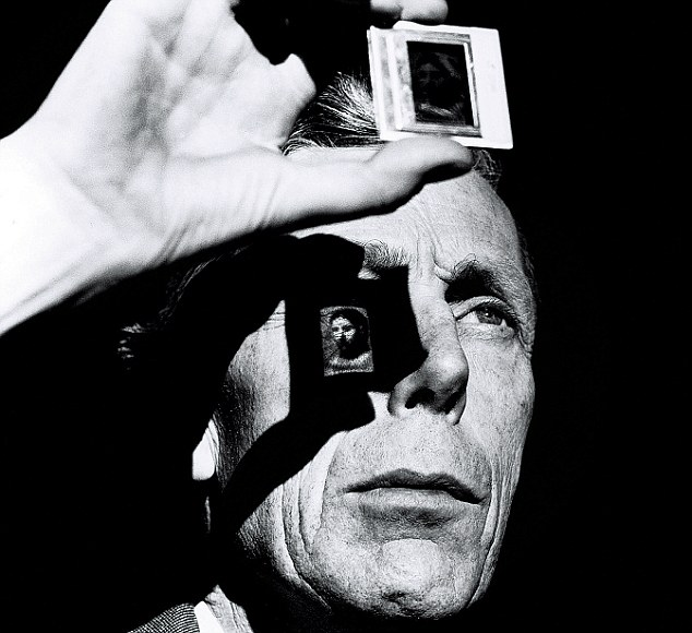 Anthony Blunt was the Surveyor of the Queen's Pictures then but was later revealed to be one of the most infamous spies ever. This captures a certain steeliness in him