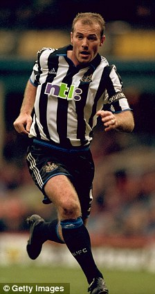 No 9s of the past: Alan Shearer