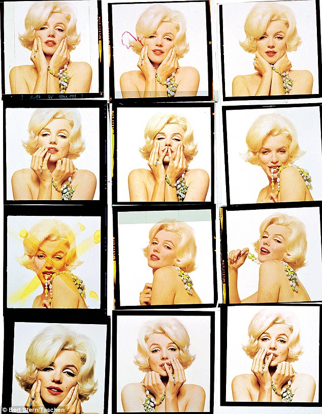 Everyone was fixated on Marilyn Monroe's bosom but Bert Stern made a thing of her back. It's coy and it's very clever