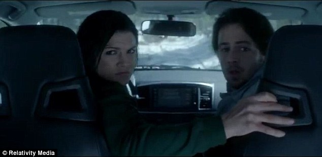 Haywire: Actress Gina Carano appears in Haywire alongside co-star Michael Angarano