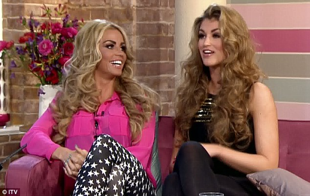 So much for individuality: But Katie also revealed that she told Amy she couldn't dress like a 'proper old lady'